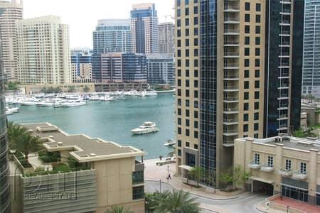 شقة 3 غرف نوم للايجار في جميرا بيتش ريزيدنس، دبي - Full Marina View 3 Bedrooms  Unfurnished