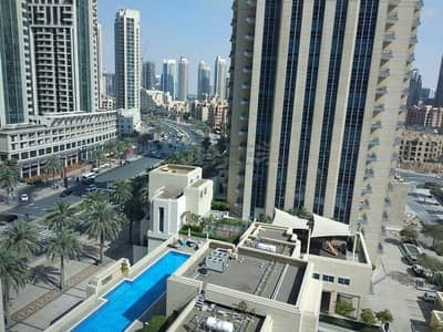 شقة 1 غرفة نوم للبيع في وسط مدينة دبي، دبي - REDUCED PRICE : 1 Bed + Study   Boulevard & Pool View