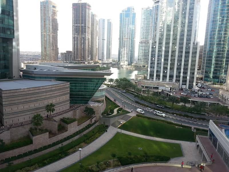 Rent 42K, Furnished 1 BHK in Lake Terrace JLT, Full Lake and Pool View