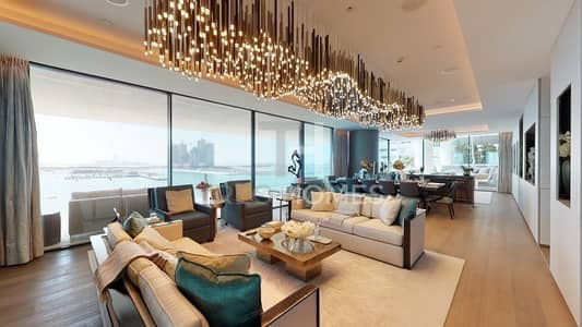 4 Bedroom Flat for Sale in Palm Jumeirah, Dubai - One of a Kind | Large 4BR | Full sea view