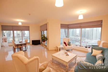 2 Bedroom Apartment for Sale in Dubai Marina, Dubai - Marina View | 2 Beds | Vacant On Transfer