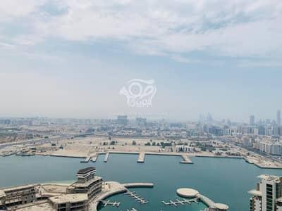 2 Bedroom Apartment for Rent in Al Reem Island, Abu Dhabi - Sea view 2 BHK W Balcony Nice Community