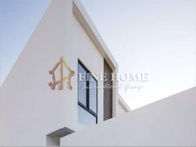 3 Bedroom Townhouse for Sale in Al Ghadeer, Abu Dhabi - Pool View Townhouse with 4K mall vouchers.