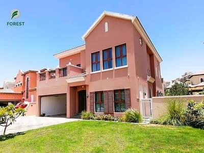 4 Bedroom Villa for Rent in Jumeirah Golf Estate, Dubai - Golf Course View |Amazing 4BR Villa |Unfurnished