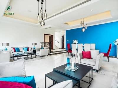 فیلا 4 غرف نوم للايجار في عقارات جميرا للجولف، دبي - Luxury Furnished 4BR Villa | Golf View | Vacant