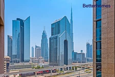 فلیٹ 1 غرفة نوم للايجار في شارع الشيخ زايد، دبي - With Rent Free Period | 1 BR | Meraikhi Tower