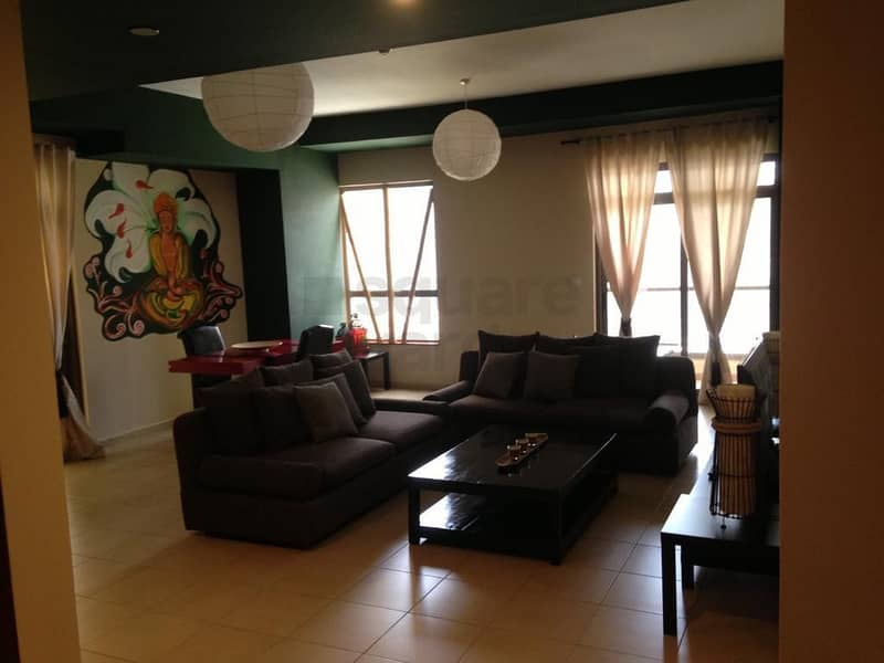 Fully Furnished 1 Bedroom | Partial Sea | Vacant
