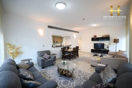 2 Bedroom Flat for Rent in Dubai Sports City, Dubai - Furnished 2 Bedroom with Partial Golf Course View