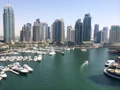 1 Bedroom Apartment for Rent in Dubai Marina, Dubai - Full Marina View | 1BR Elegantly Furnished