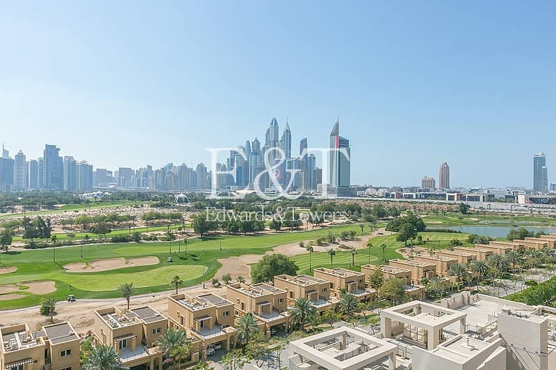 2 5.5% ROI | One Bed with Full Golf Course View