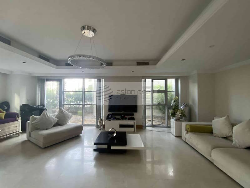 10 4 BR   Unfurnished   Garden Unit   Well Maintained