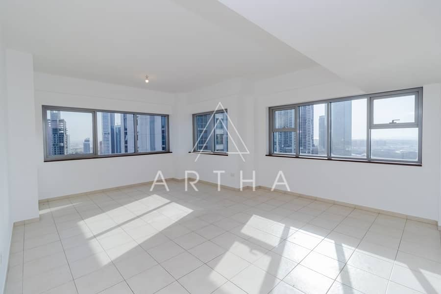 3 Bed Apartment | Near to metro | On a High Floor