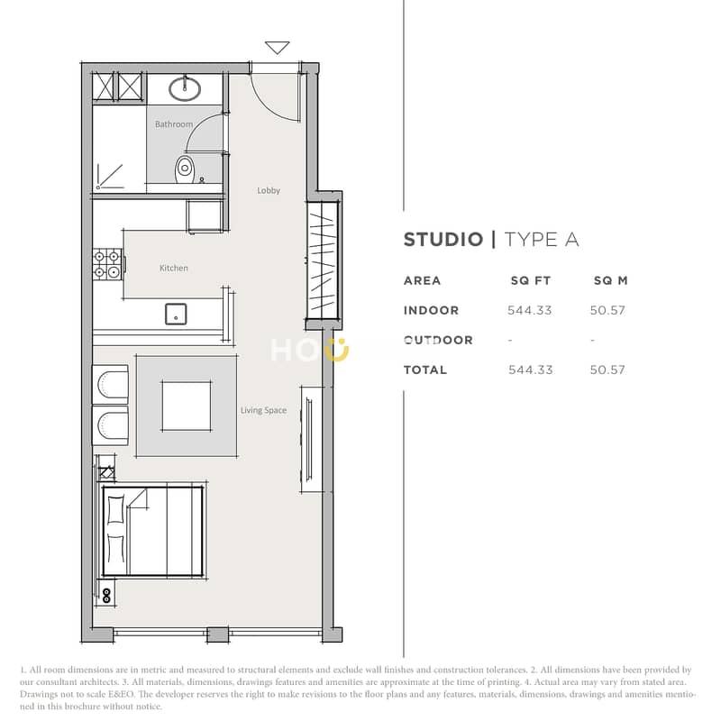 10 Modern Studio - Pristine condition