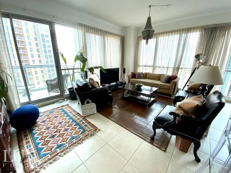 2 Unfurnished | Large Layout | Fountain Views