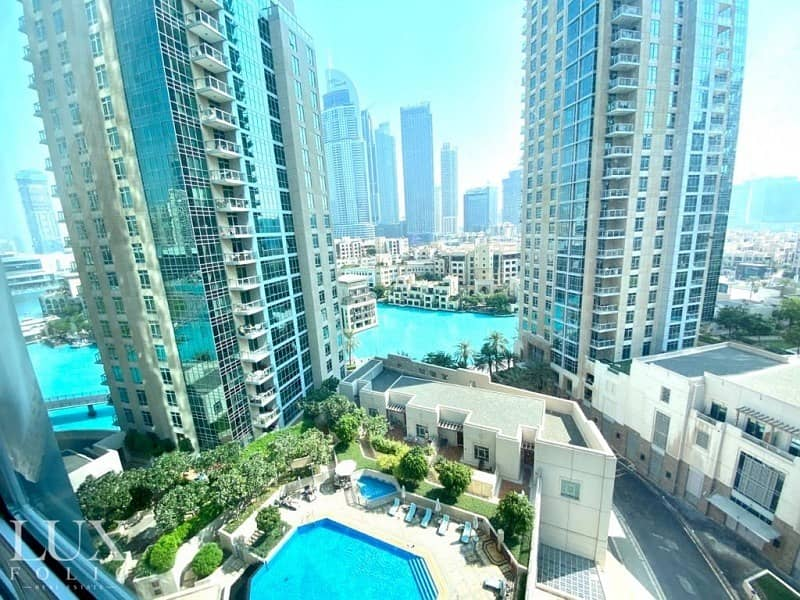 12 Unfurnished | Large Layout | Fountain Views