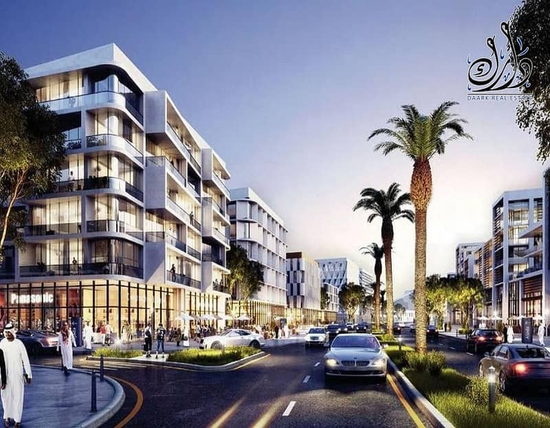 Ready apartments for sale in Sharjah with only 10% down payment