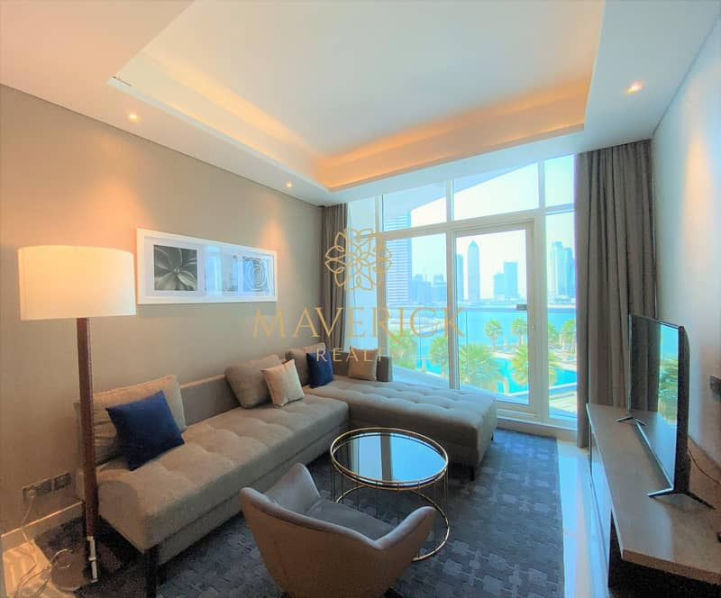 Brand New Furnished 1BR | Full Canal View