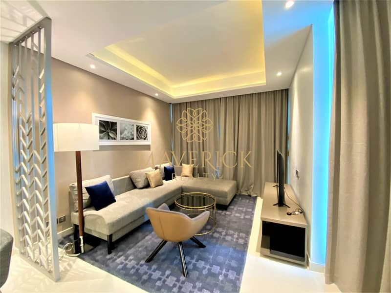 2 Brand New Furnished 1BR | Full Canal View