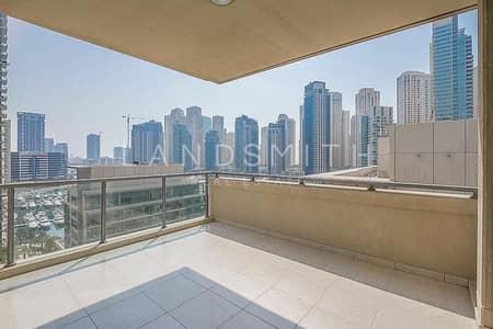 فلیٹ 3 غرف نوم للبيع في دبي مارينا، دبي - Stunning Full Marina View 3BR plus Study Apartment