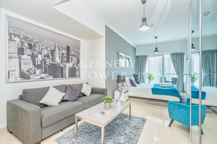 2 Stunning Views | Upgraded Studio | Great Location