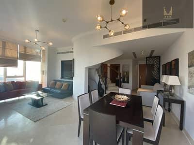 2 Bedroom Flat for Rent in Dubai Marina, Dubai - Duplex | Fully Furnished l Perfect Marina View