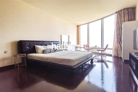Studio for Rent in Downtown Dubai, Dubai - Iconic address   Fully furnished   Chiller free  
