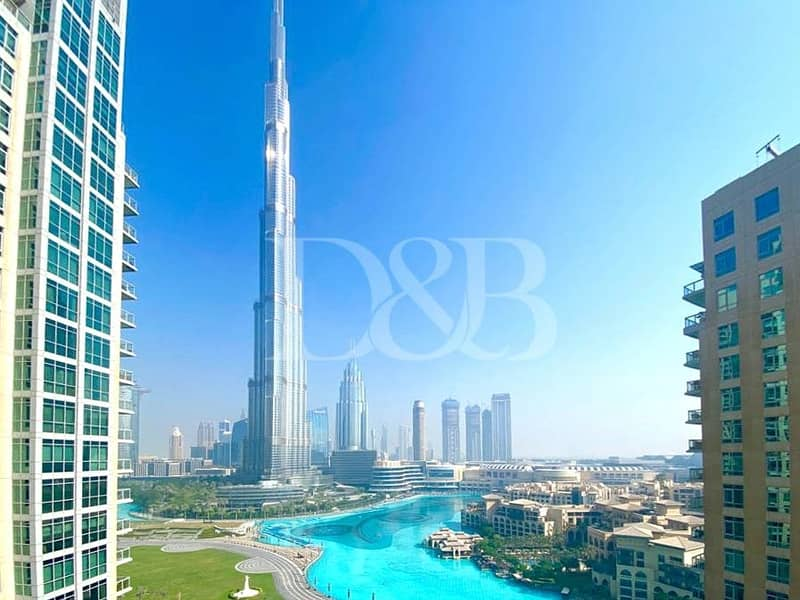2 Burj and Fountain View | Spacious | Natural Light
