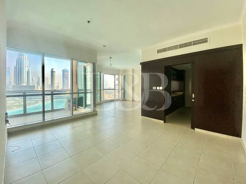 Burj and Fountain View | Spacious | Natural Light