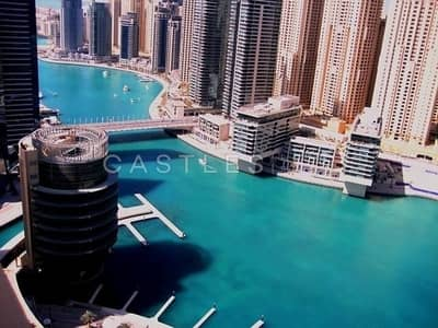 2 Bedroom Apartment for Sale in Dubai Marina, Dubai - Amazing Full Marina View - High Floor - Vacant Now