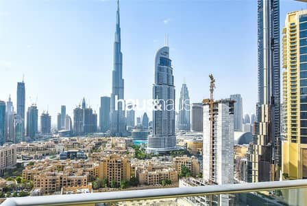 2 Bedroom Flat for Rent in Downtown Dubai, Dubai - Burj Khalifa Views | Chiller Free | Great Layout