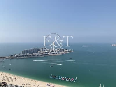 4 Bedroom Penthouse for Rent in Jumeirah Beach Residence (JBR), Dubai - Luxurious 4 Bedroom PH with Panoramic View of Sea