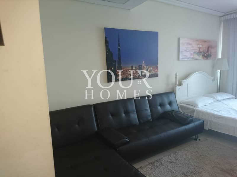 27 SO | Exclusive Fully Furnished Studio With Balcony For sale
