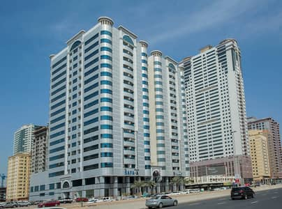 3 Bedroom Apartment for Rent in Al Wahda Street, Sharjah - Building