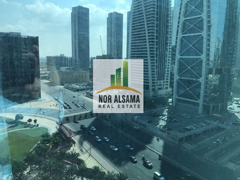 11 10% ROI with 4 years old client !! Fully fitted office in Reef Tower JLT mid floor@ 1.75 million
