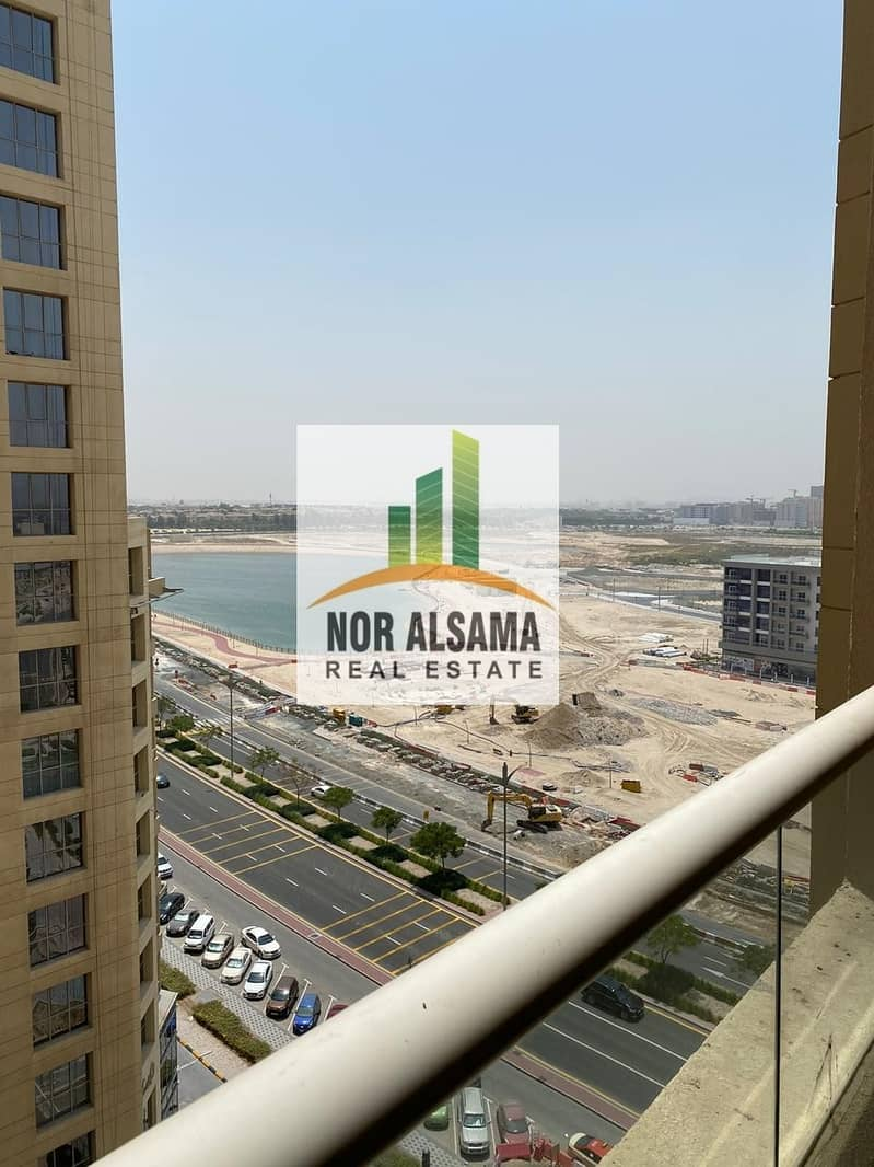 Semi Furnished!! Unfurnished!! Studios in lakeside tower  mid floor just 16000