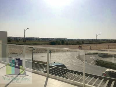 تاون هاوس 3 غرف نوم للايجار في أكويا أكسجين، دبي - GOLF COURSE FACING TRIXIS MIDDLE UNIT 3BED+M FULLY FURNISHED