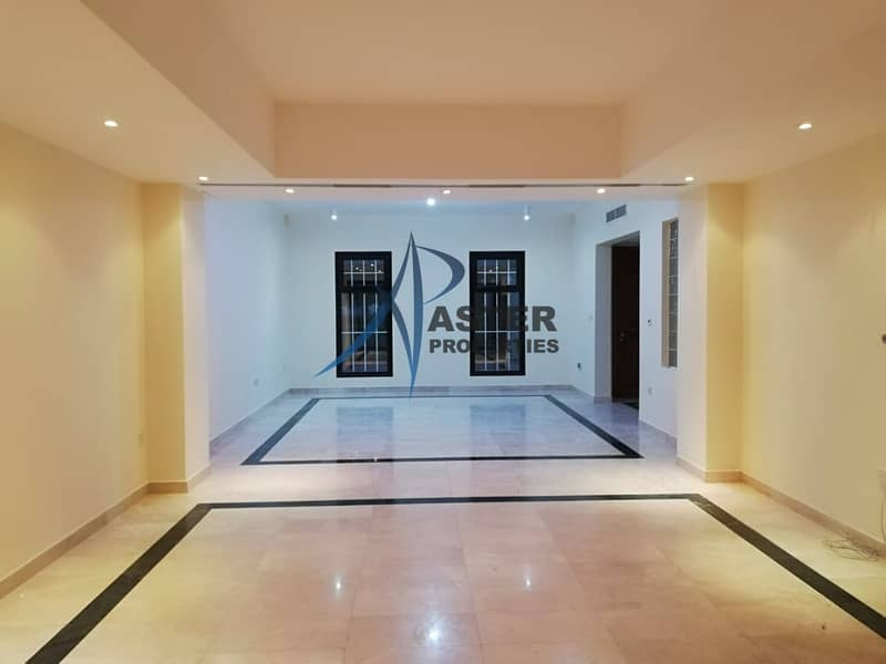 Stunning 4BR Villa|Maid Room|Shared Gym and Pool 24/7 Security