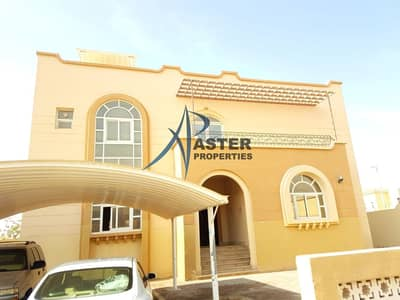 4 Bedroom Villa for Rent in Khalifa City A, Abu Dhabi - Astounding 4BR Villa Compound|Garden Area|Covered Parking|Maid Room