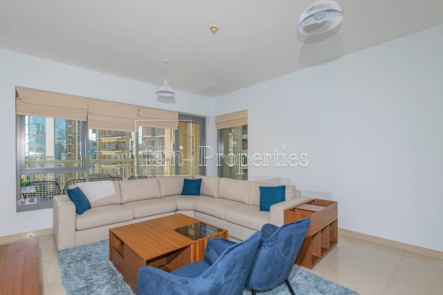 2 Stunning Furnished 2BR | Chiller Free I City view