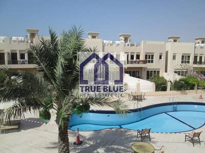 3 Bedroom Townhouse for Sale in Al Hamra Village, Ras Al Khaimah - EXCLUSIVE POOLFRONT 3 BEDROOM TOWN HOUSE FOR SALE