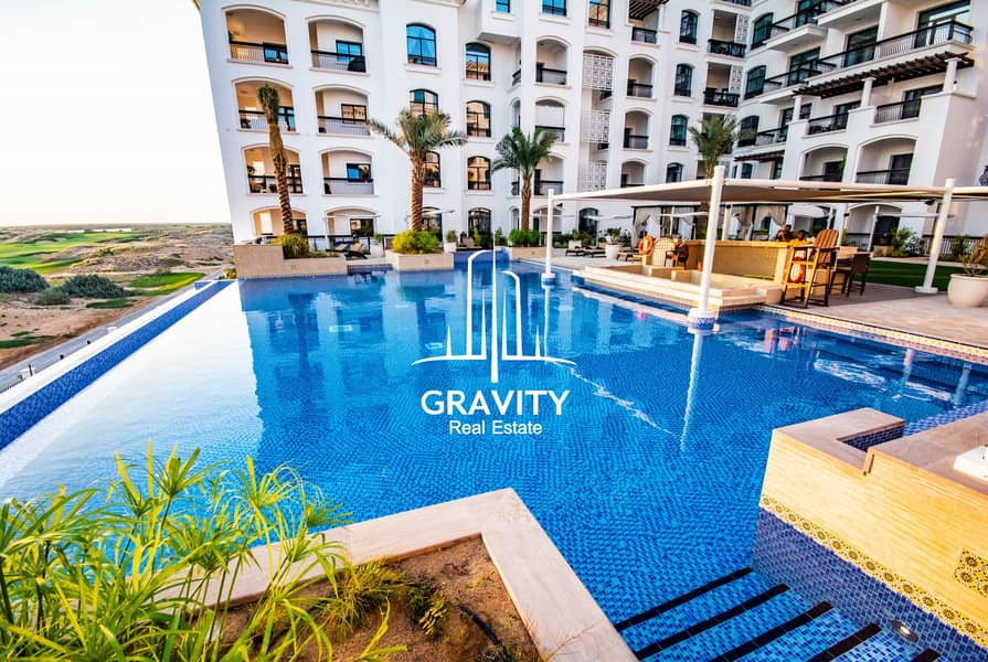 13 Stunning 1BR Apt in Yas Island | 2 Payments
