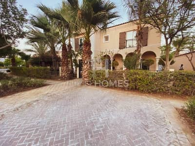 5 Bedroom Villa for Sale in Green Community, Dubai - Next to Main Park on Cul de Sac | V.O.T.