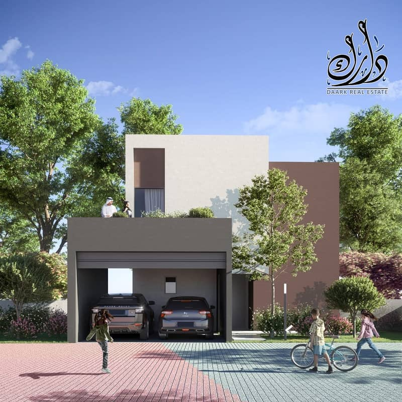 2 PAY 5% EVERY 4 MONTH'S | OWN VILLA IN AL JADA | SMART HOME \ CORNER