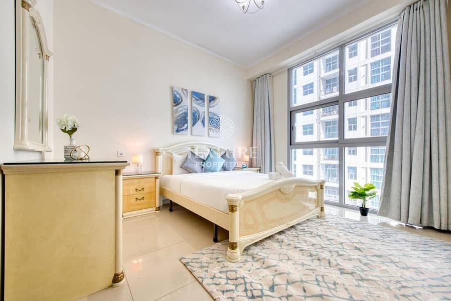 2 Amazing & Well-Maintained | 1 Bedroom Apartment for Rent | DEC Tower | Dubai Marina