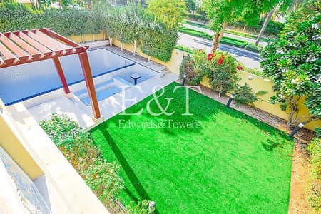 4 Bedroom Villa for Rent in The Meadows, Dubai - Upgraded | Single Row | Private Pool |Available|EH
