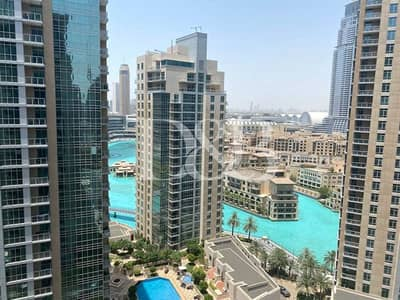 2 Bedroom Flat for Rent in Downtown Dubai, Dubai - Largest Layout | Bright & Quiet | 2 Balconies