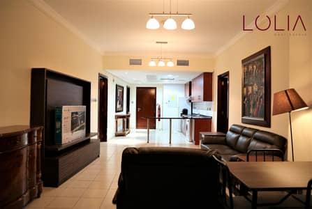 فلیٹ 2 غرفة نوم للايجار في أبراج بحيرات الجميرا، دبي - Well Maintain 2bhk | Full Lake View | Low Floor