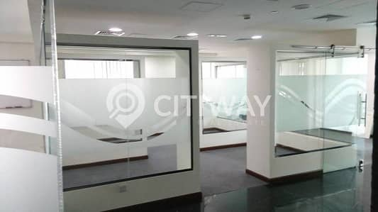 Furnished Partitioned Office Near the Business Bay Metro