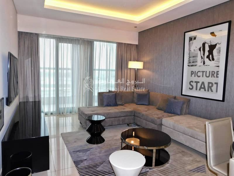 1 Bedroom| Fully Furnished| Paramount Tower| Business Bay