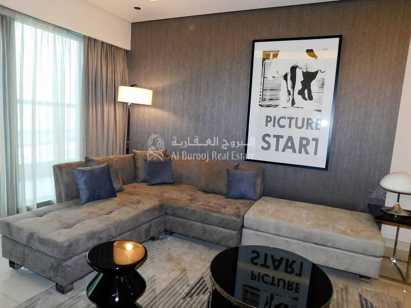 2 1 Bedroom| Fully Furnished| Paramount Tower| Business Bay